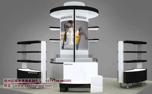 袜子展柜制作设计效果欣赏 袜子店装修设计展柜制作 mdash高清图片