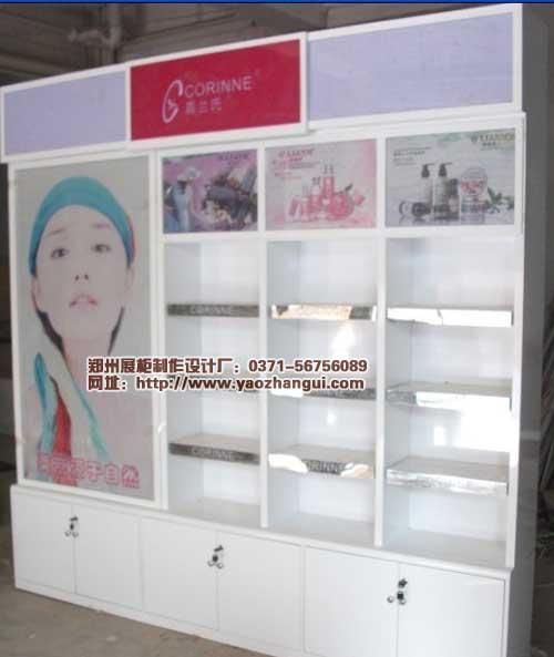 嘉兰氏化妆品展柜制作设计展柜灯光效果欣赏