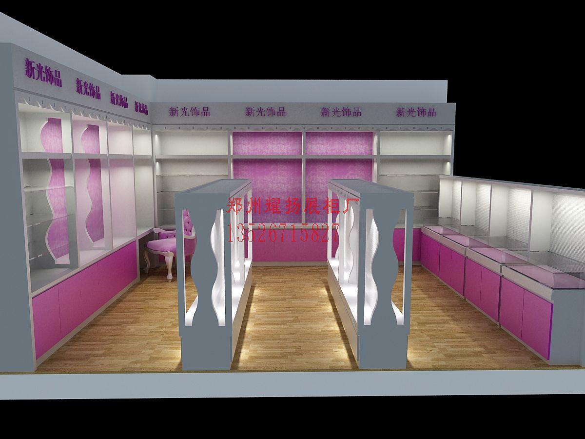 饰品展柜-新光饰品展柜-河南展柜设计制作第一品牌